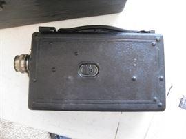 Vintage handheld camera