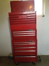 Tool chest with all the tools $200.00 **Buy It Now PAYPAL** Lot #03