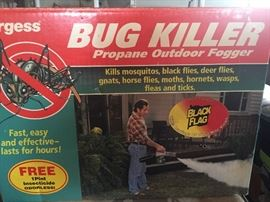 Bug killer propane outdoor fogger $20.00 New in box **Buy It Now PayPal**Lot#04