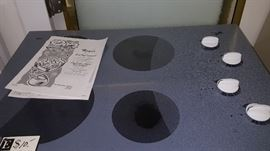 Whirlpool electric Cook top, As Is