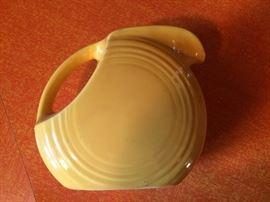 """""""Fiesta"""" Lemon yellow small pitcher"""