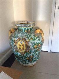 Huge Olive Jar