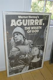 ART, MOVIE POSTER, WERNER HERZOG'S AQUIRRE, THE WRATH OF GOD