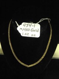 14kt Gold Necklace