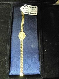 14kt Gold Geneve Watch
