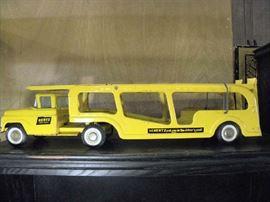 Hertz Toy Car Hauler