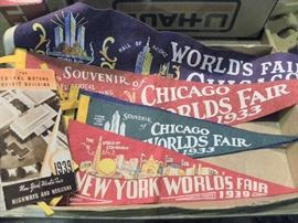 Wolds Fair Flags from 1930's