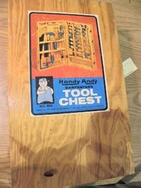 Handy Andy Tool Box Complete w/ Tools