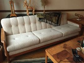 Danish Modern Sofa, no stains great condition