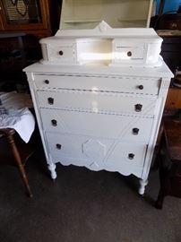 Antique Dresser  (Tall Chest)