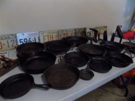 Huge Variety of Cast Iron and License Plates