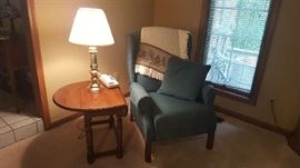 Wingback chair - $75