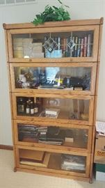Bookcase with glassfront - $125
