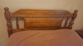 Twin size wood headboard - $60