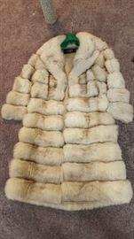 1950's fur coat - size 8   $100