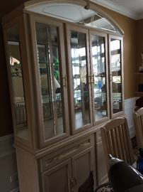 China cabinet ,  light and airy