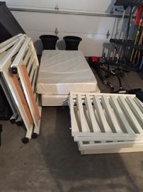 Twin cribs. Immaculate.