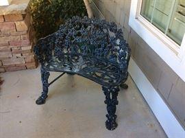 Wrought Iron seat