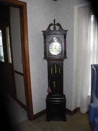 Howard Miller Barwick grandmother clock, rare!