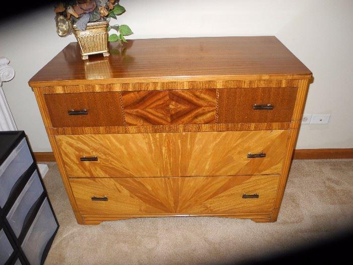Art Deco dresser in amazing shape!