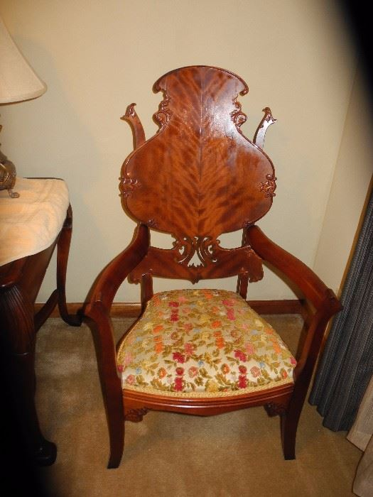 Amazing antique chair!