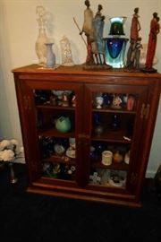 curio, full of collectibles