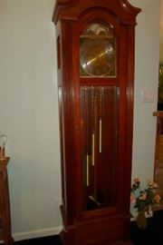 grandfather clock, missing hands