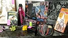 PROFESSIONAL DART SET, JUDY GARLAND, STAR WARS, HARRY POTTER, CLOTHES RACKS, SCRABBLE & SOOO MUCH MORE!