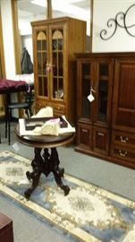 GORGEOUS FURNITURE, IRON WALL SCONCE, BED RUFFLES, MATERIAL, DECORATOR ITEMS, *NEW* WOODEN CORBELS!
