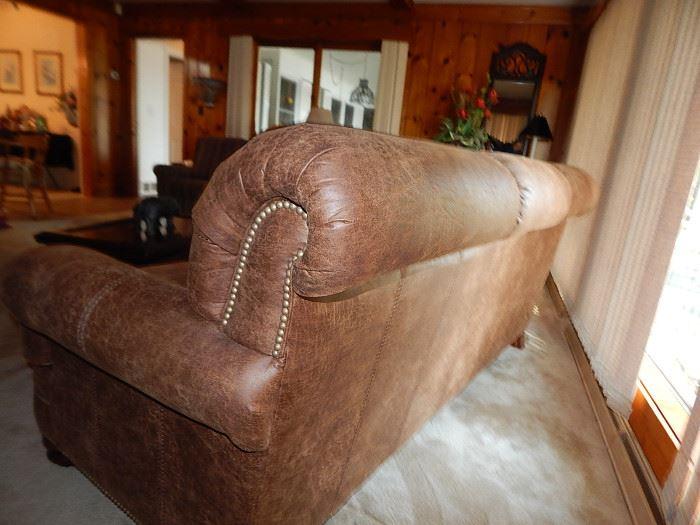 Back of Flexsteel sofa