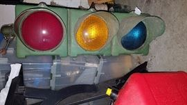 Working traffic light