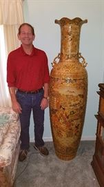 "6' (72"") Tall Import Vase (Oh and Wayne)"