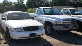 Ram and Ford Trucks