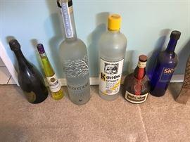 Extra Large Advertisement Display Bottles