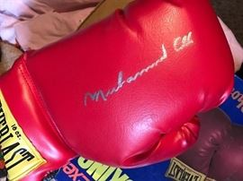 Muhammad Ali Autographed Boxing Gloves