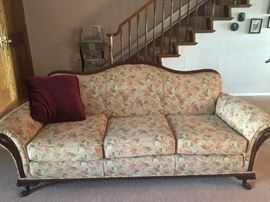 Victorian style antique sofa