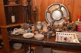 Porcelains , mid century ceramics