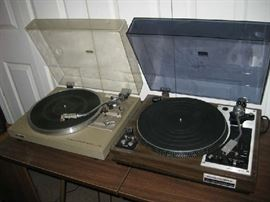 high end record players. Pioneer and Morantz