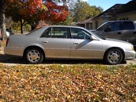 2005 Cadilliac Coupe Deville with sunroof, 53,000 miles one owner garage kept regular maintenance at Superior Cadillac, excellent condition
