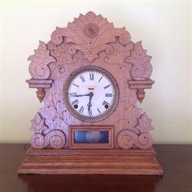 Primitive Grandfather Clock