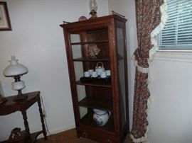 Vintage Display Hutch with Drawer