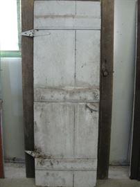 Great Primitive Doors with Spool Knob