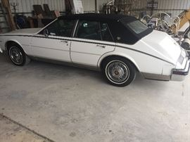 1985 Cream Puff Cadillac Seville Classic, with 186,000 miles, runs like new, smoothest ride ever!