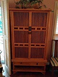 Another custom made piece of Asian furniture, made in Macau.