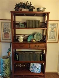 Another very nice Asian bookshelf, purchased in Hong Kong - heavy!