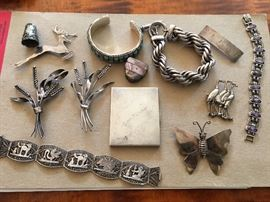 Vintage Sterling pieces