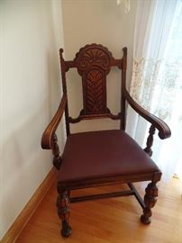 Arm Chair to dining room suite