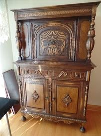 Spanish Revival Style Dining Room set- in amazing condition-this is the console cabinet