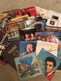 Many vintage albums