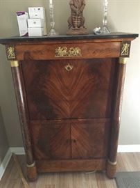 Gorgeous imported French ormolu butlers chest